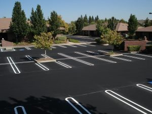 New Parking Lot Paving job completed in Scranton, Pennsylvania