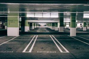 Paved multi story parking lot in Scranton, Pennsylvania - Scranton Asphalt Paving